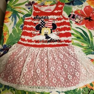 Brand New Disney Minnie Dress